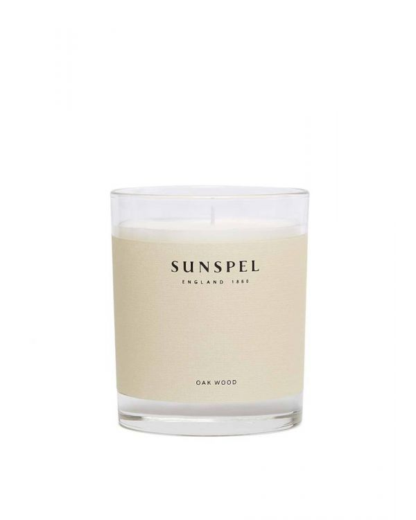 Sunspel Oak Wood Duftkerze 185g